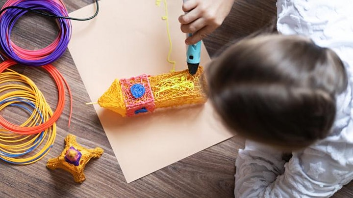 School Holiday Fun at Sunnybank Plaza - 3D Printing Pen Workshops! image