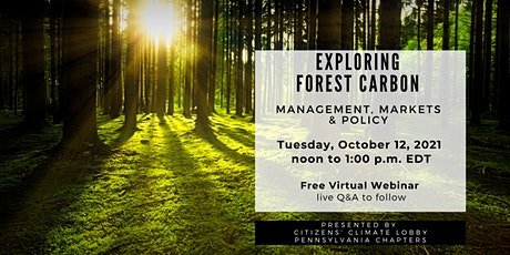 Exploring Forest Carbon: Management, Markets & Policy tickets
