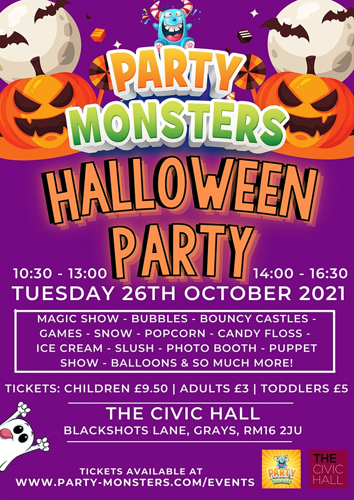 Party Monsters Halloween Party image