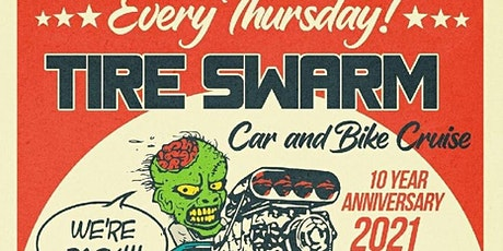Tire Swarm Car Show with Black Bolts tickets