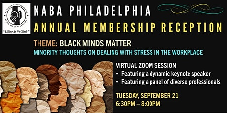 NABA Philly Annual Member Reception: Black Minds Matter tickets