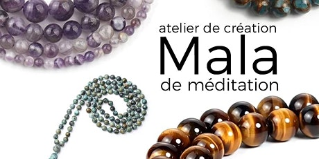 Atelier de création de mala de méditation aux pierres semi-précieuses billets