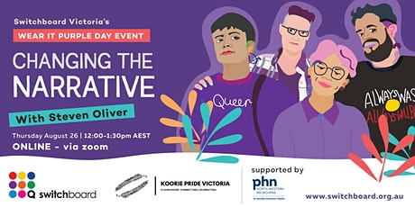 [Livestream] Changing the Narrative Wear It Purple 2021 tickets