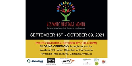 Hispanic Heritage Month Closing Ceremony tickets