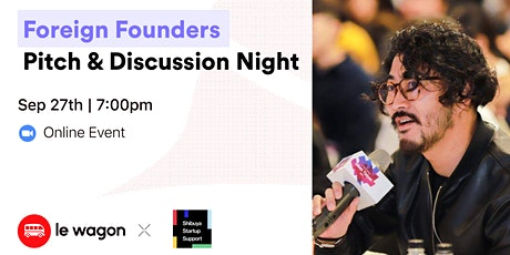 Foreign Founders Pitch & Discussion Night tickets