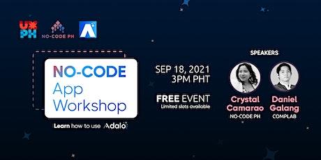 No-Code App Workshop tickets
