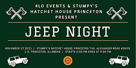 Jeep Night at Stumpy's Princeton tickets