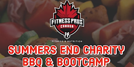 Fitnesspros Canada BBQ September 25th 2021 tickets