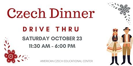 Czech Dinner Drive Thru - October 23, 2021 tickets