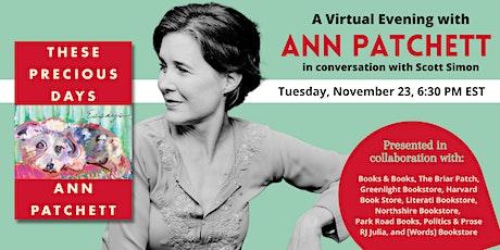 Ann Patchett: These Precious Days tickets