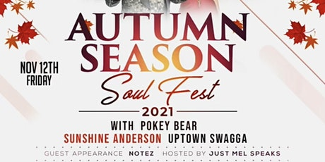 Autumn Season 1st Annual Carolina Soul Festival tickets