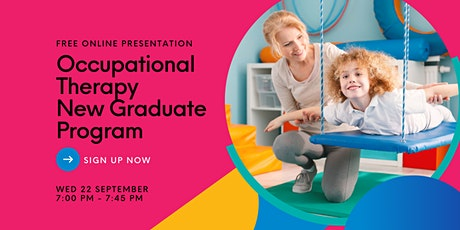 Occupational Therapy New Graduate Information Session tickets