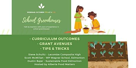 Webinar on School Greenhouses tickets