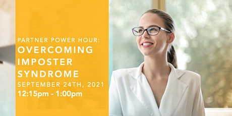 Partner Power Hour with Micha Goebig: Overcoming Impostor Syndrome tickets