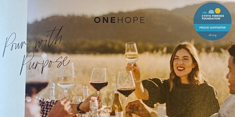 Virtual Wine Tasting with ONEHOPE Wine - Fundraiser for Cystic Fibrosis tickets