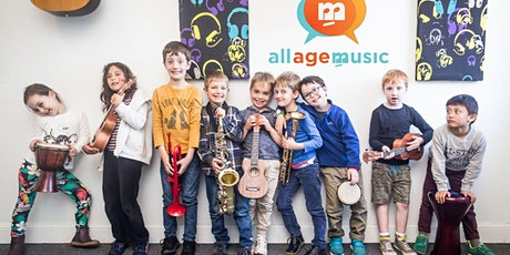 School Holiday Music Camp Online for 8 - 12yrs tickets