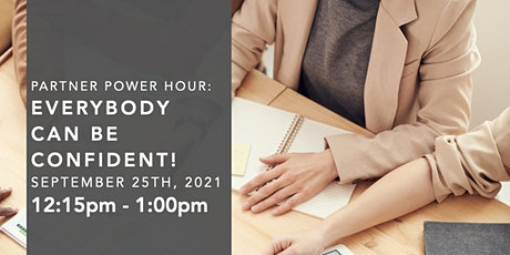 Partner Power Hour with Micha Goebig: Everybody can be confident! tickets