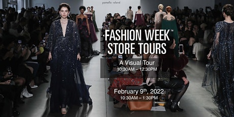 Fashion Week Store Tours - A Social Media Influencers Visual Tour tickets