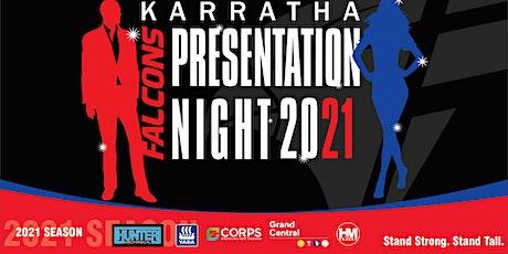 The Karratha Falcons 2021 Presentation Night tickets