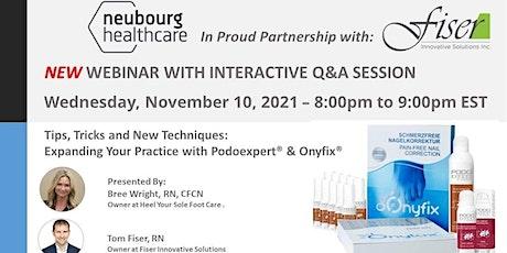 Onyfix & Podoexpert Interactive Q&A Session tickets