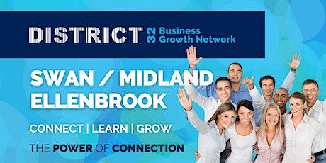 District32 Business Networking Perth – Swan / Midland - Fri 01 Oct tickets