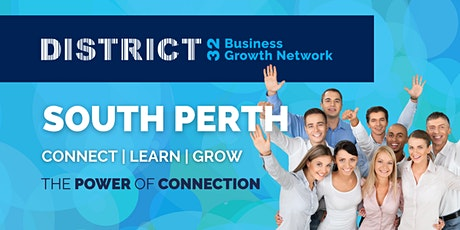 District32 Business Networking Perth – South Perth - Wed 06 Oct tickets