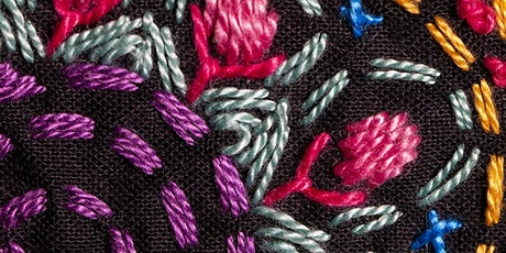 Slow Stitch Embroidery Workshop with Jane Stone tickets
