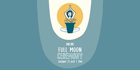 Honey Pot Full Moon Ceremony | Online tickets