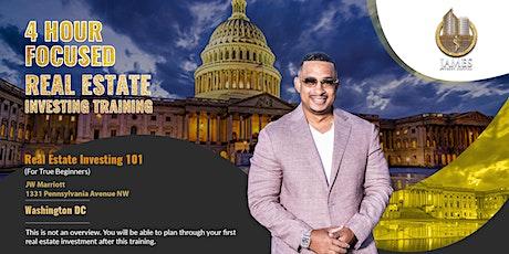 Real Estate Investing 101 - Washington DC tickets