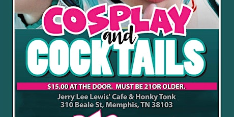 Cosplay and Cocktails tickets
