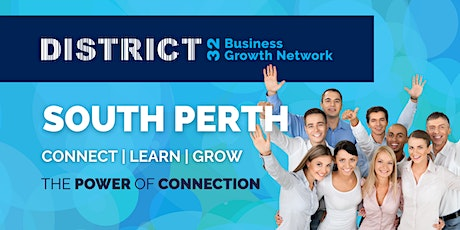 District32 Business Networking Perth – South Perth - Wed 20 Oct tickets