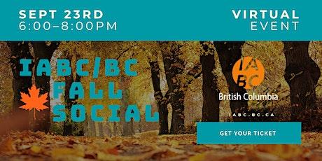 IABC/BC Fall Kick-off Social tickets