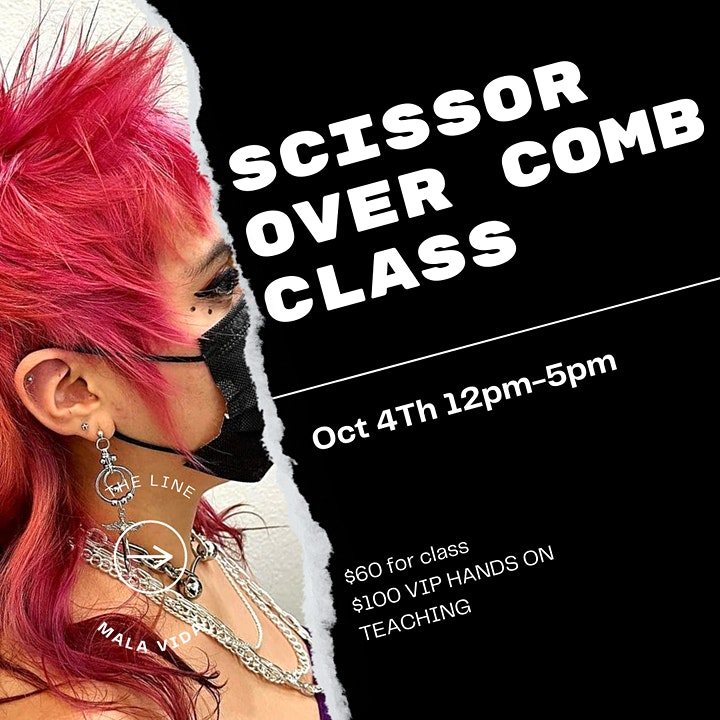 Classic Scissor Over Comb Technique image