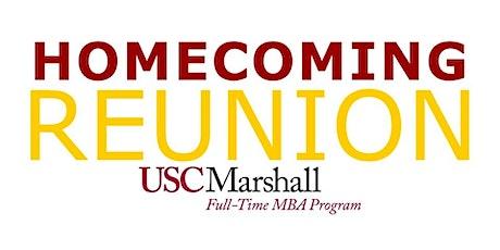 USC Homecoming Reunion: Marshall Full-Time MBA Program (Oct 2021) tickets