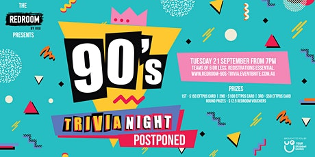90's Trivia Night tickets