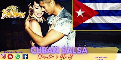 Cuban Salsa Class -Bailamos Darwin tickets