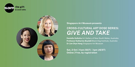 CROSS-CULTURAL ART DOSE SERIES: Give and Take tickets