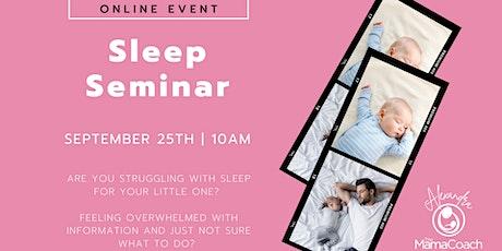 The Mama Coach- Sleep Seminar tickets