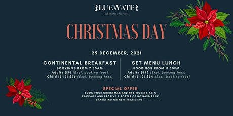Christmas Day Breakfast & Lunch tickets
