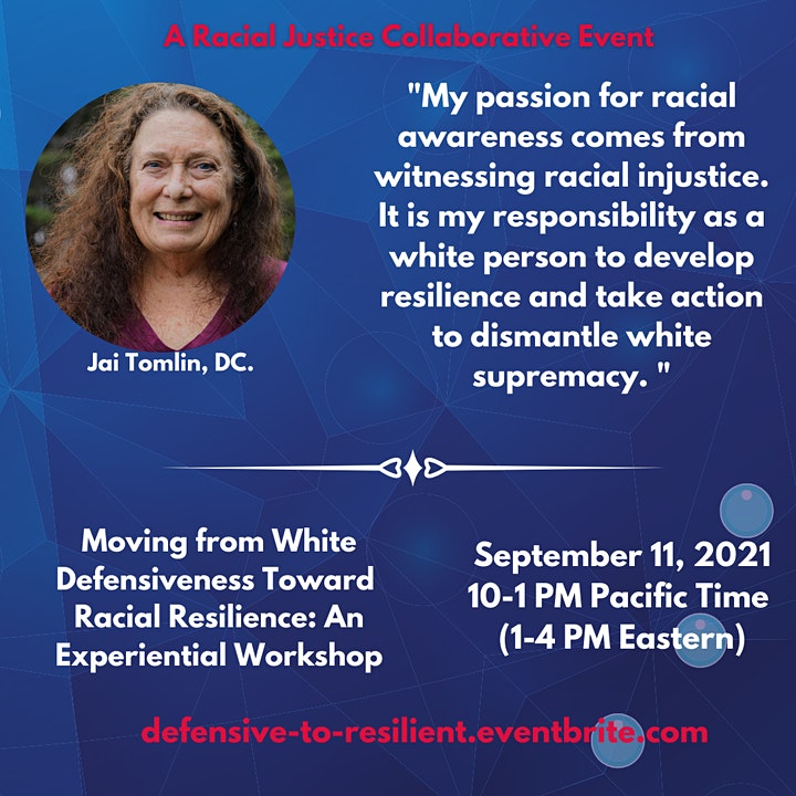 From White Defensiveness To Racial Resilience: An Experiential Workshop image