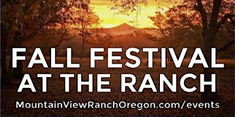 Fall Festival At The Ranch tickets