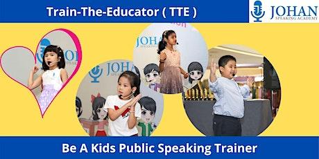 Train-The-Educator ( TTE ) Preview ( For teachers . educators. principals ) tickets
