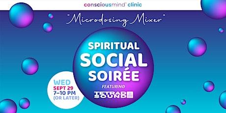 Conscious Mind Clinic Microdosing Mixer Party tickets