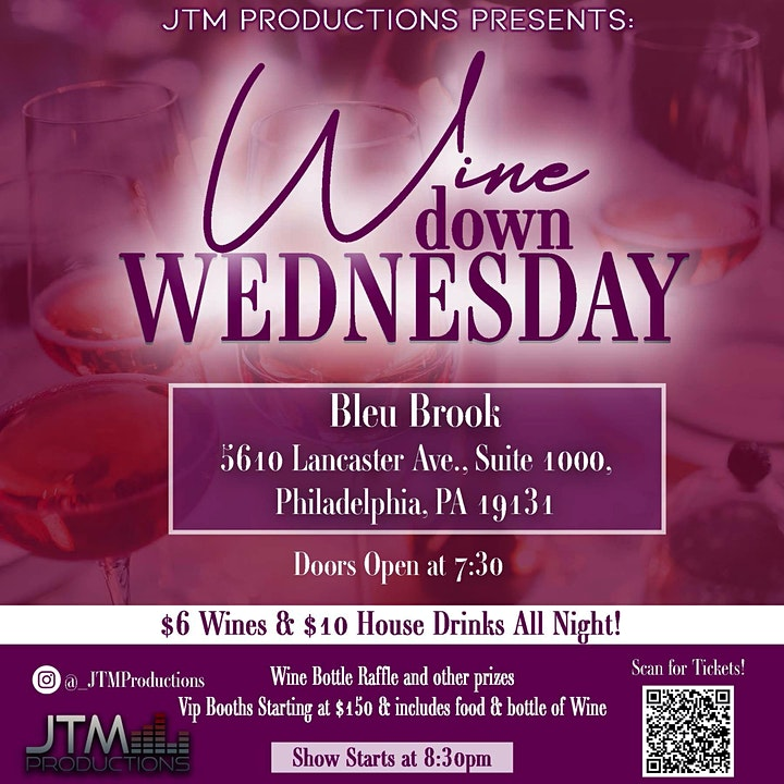 JTM Productions Presents: Wine Down Wednesday image