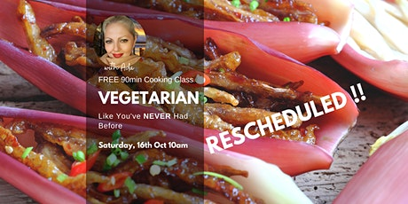 Vegetarian Like you've NEVER had before Cooking Class, Underwood tickets