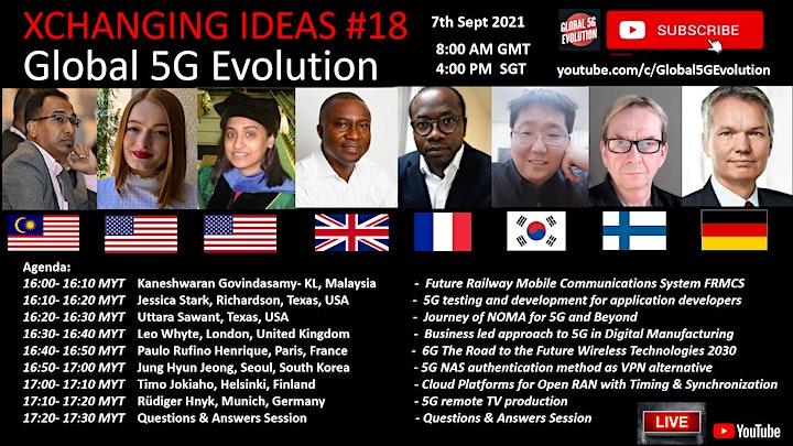 XCHANGING IDEAS #19 - Global 5G Evolution image