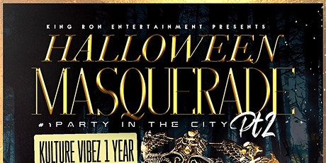 Halloween Masquerade Pt. 2 tickets