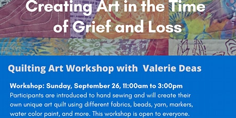 Workshop: Creating Art in the Time of Grief and Loss tickets