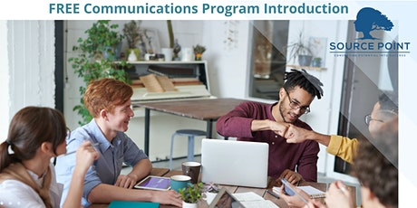 FREE Communications Program Introduction tickets