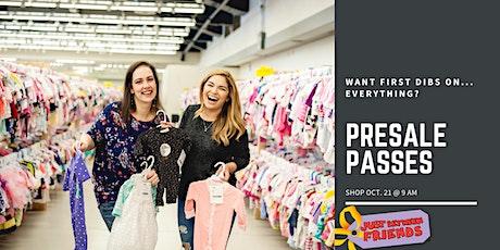JBF Paid Presale Passes! Shop Before the Public! tickets